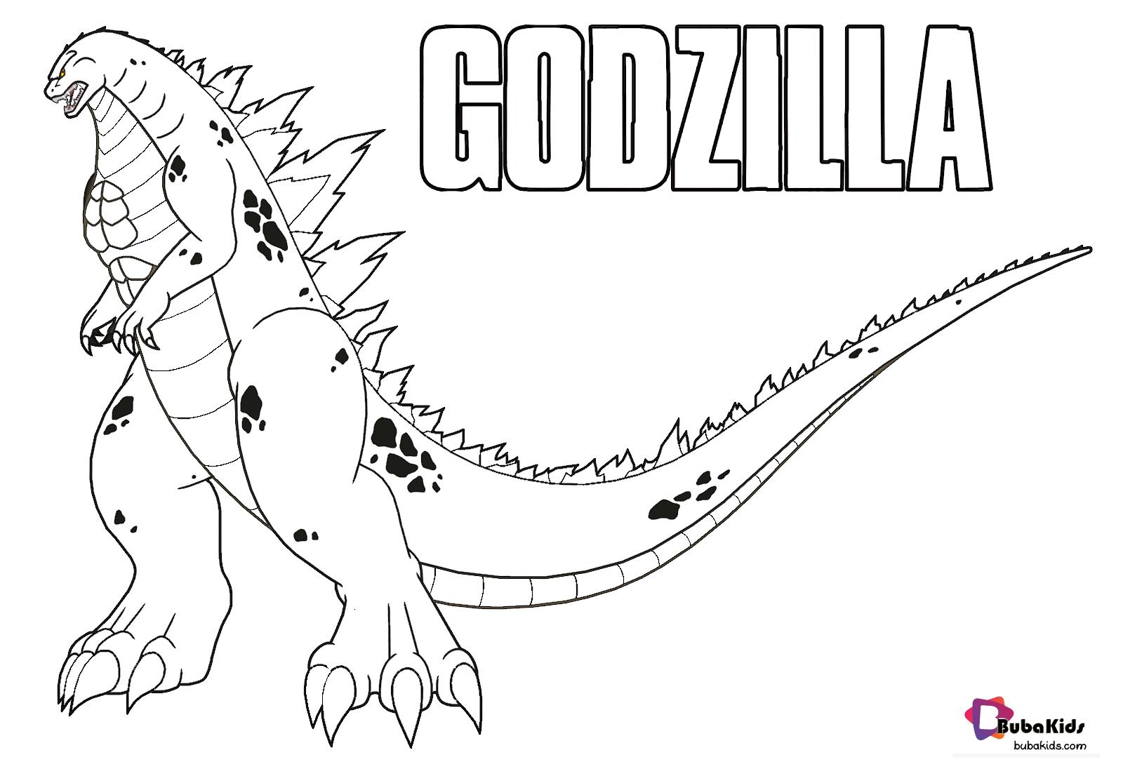 Top 10 Shin Godzilla Coloring Pages