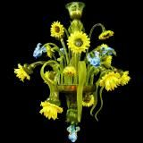 """Bouquet"" Murano glass chandelier – Murano glass chandeliers"