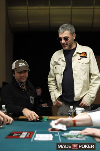 Soulier, Fitoussi au WSOP 2013 Event 17. #Madeinpoker #Poker