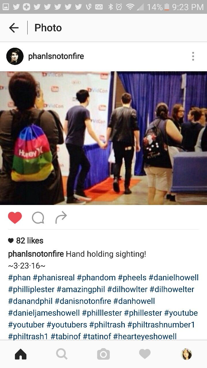 Holy Shit Phan Is Real O Everyone Relax I Hold Hands With Jpg 720x1280 Dan And