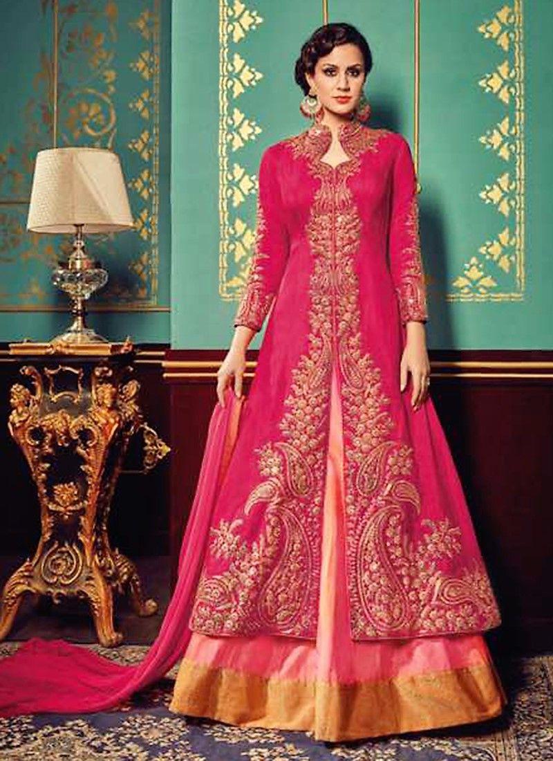 d97bbebaebc Rani Colour Heavy Party Wear Sharara Suit