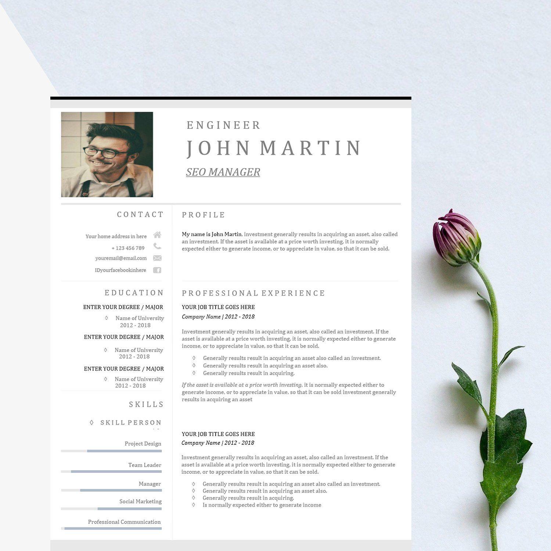 word resume  u0026 us letter template