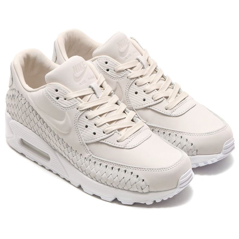 NIKE AIR MAX 90 WOVEN   90 PHANTOMPHANTOM WHITE   16SU I