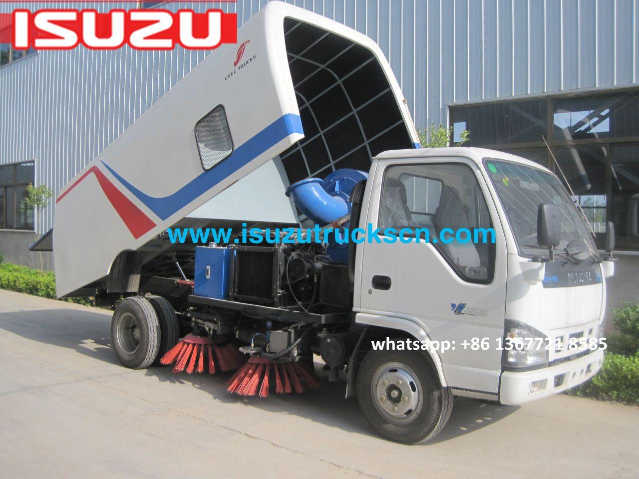 Isuzu 5m3 road sweeper machine philippines truck mounted sweeper http www isuzutruckscn
