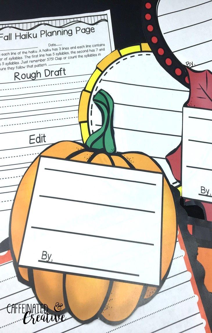 Teach Kids To Write Haikus With A Fun Fall Theme Haiku Pack Fall Haiku Pack Includes Everything You Need For Teaching Haikus A Teach Haiku Writing Units Haiku [ 1147 x 730 Pixel ]