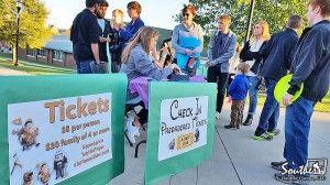 Outdoor Movie Fundraiser Themed Around Disney's Up Movie