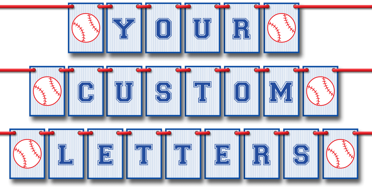 DIY Pennant Banner templates