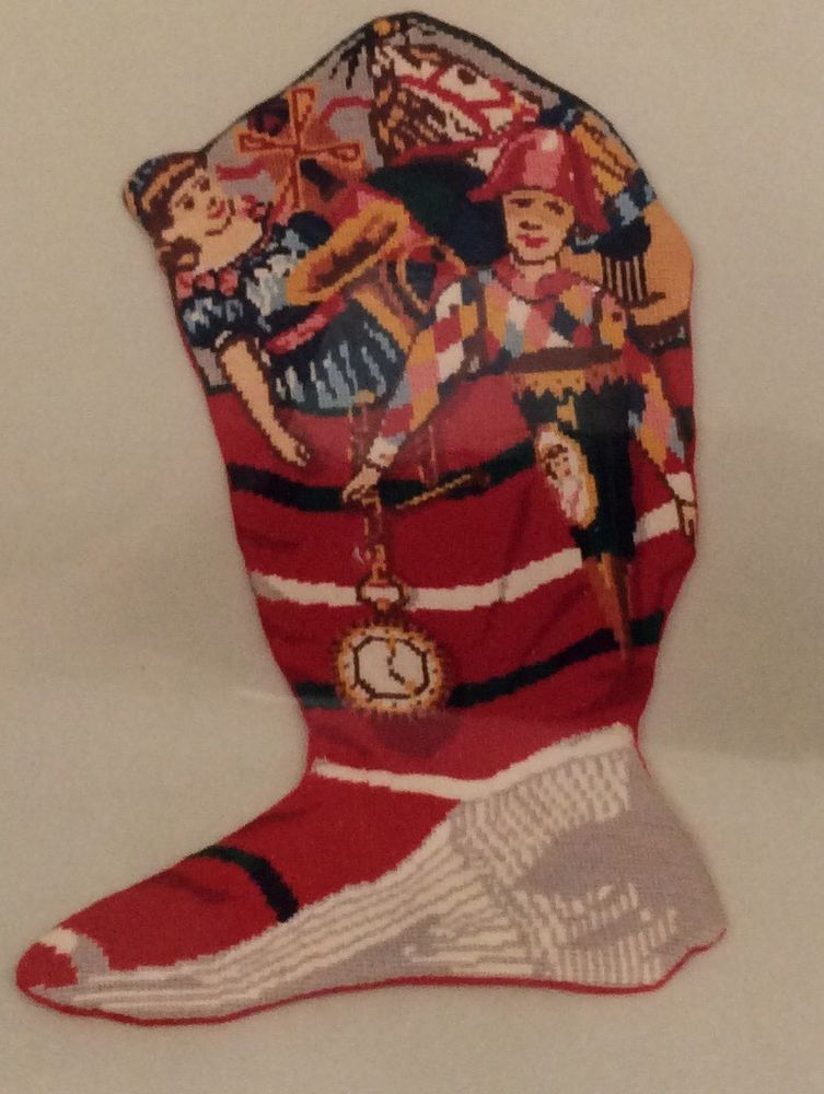 "Smithsonian ""The Torn Christmas Stocking"" Needlepoint Kit"