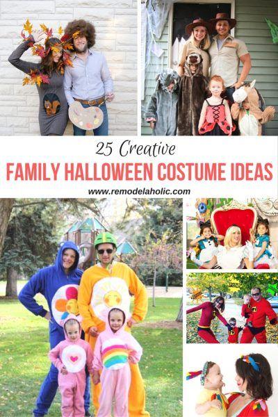 25 Creative Family Halloween Costume Ideas Family halloween - no cost halloween costume ideas
