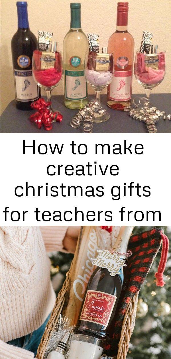 How to make creative christmas gifts for teachers from kids 9 #boyfriendgiftbasket