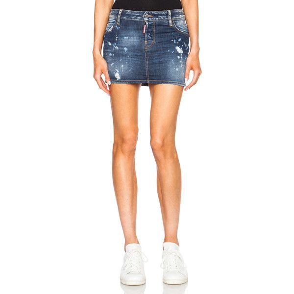 фото девушки в коротких джинсовых юбках