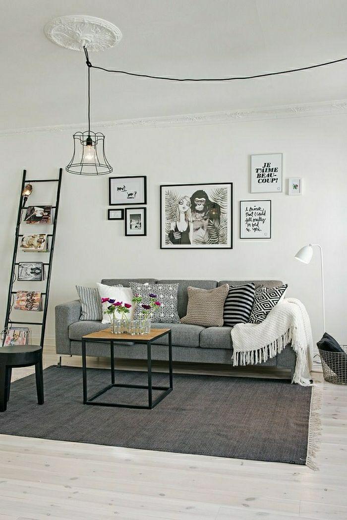 Lampe Glühbirnenform im wohnzimmer originelle ideen Deko und mehr