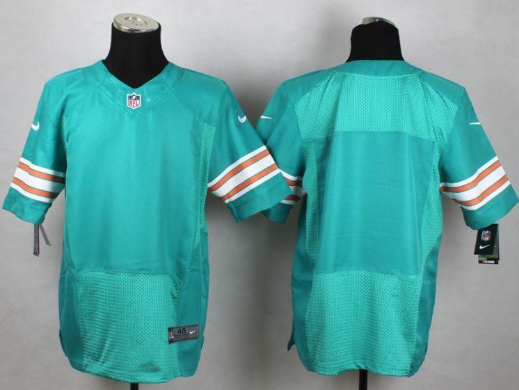 e51c8516e Men Miami Dolphins Blank Green Elite Nike NFL Jerseys