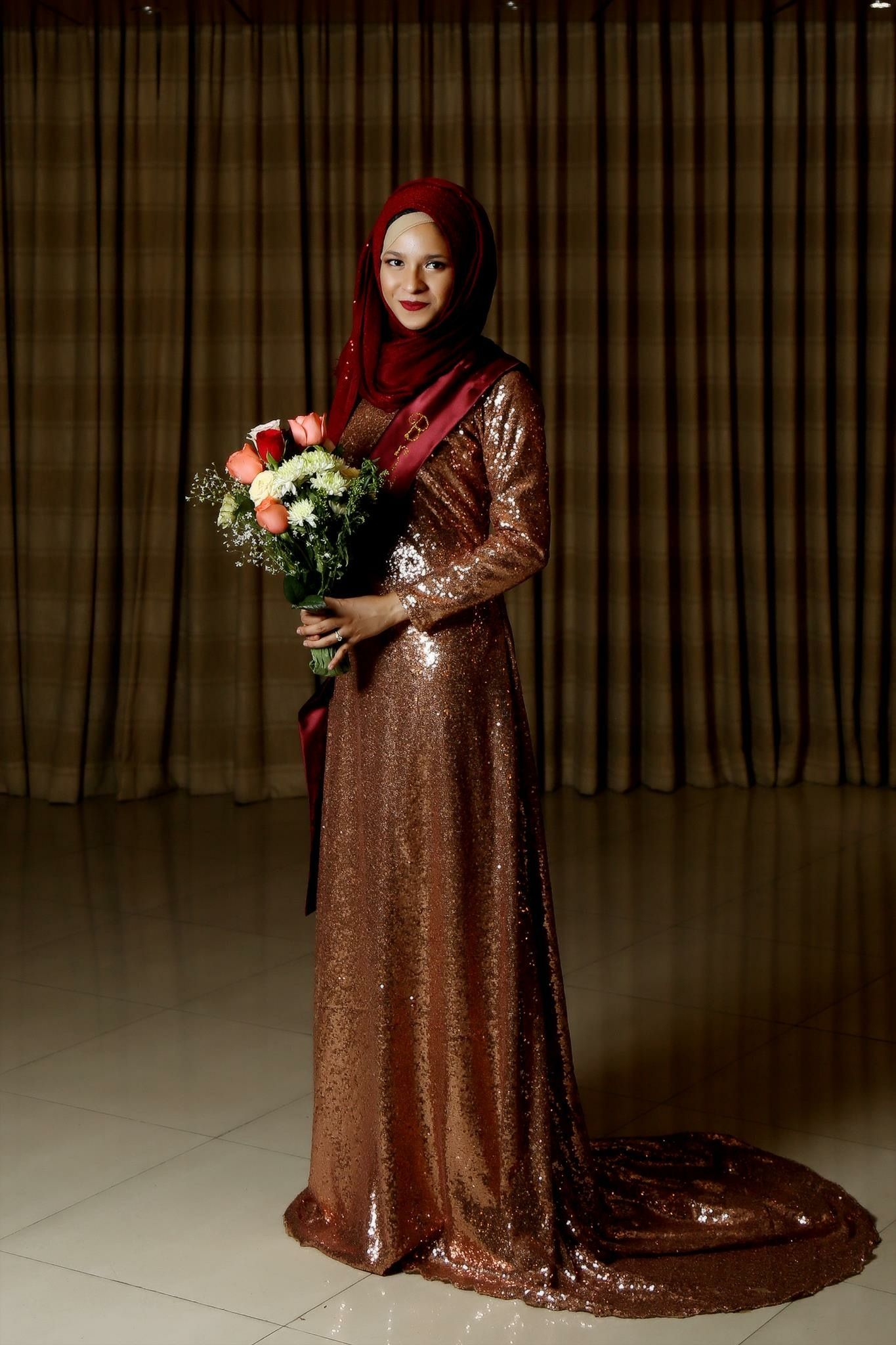 Bridal shower hijabi tailed gowns gowns victorian