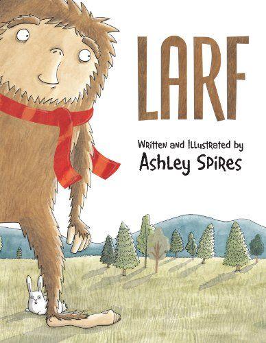 Larf by Ashley Spires http://www.amazon.com/dp/1554537010/ref=cm_sw_r_pi_dp_fs4Pvb1MWYD4Y