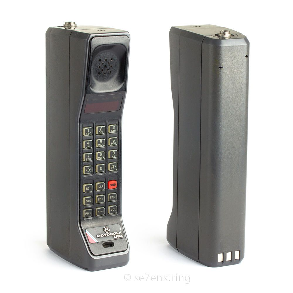 8500x Brick Mobile Phone Vintage Analog Cell Phone DynaTac