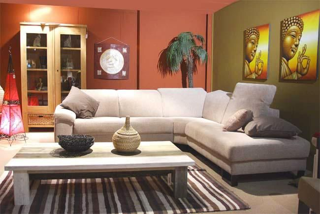 Salon demi brengt inspiratie van verscheidene culturen samen in een interieur dat altijd een - Inspiratie salon moderne ...
