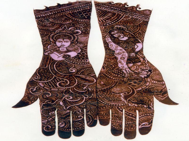 Mehndi Art Designs : Bridal mehndi designs artist delhi art mehandi