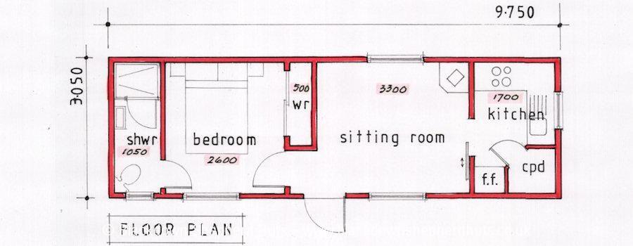 Katrina Cottages Floor Plans