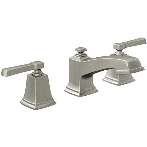Moen 4500BN Brushed Nickel Wynford Single Hole Bathroom Faucet with Metal  Pop-Up Drain Assembly - Faucet.com