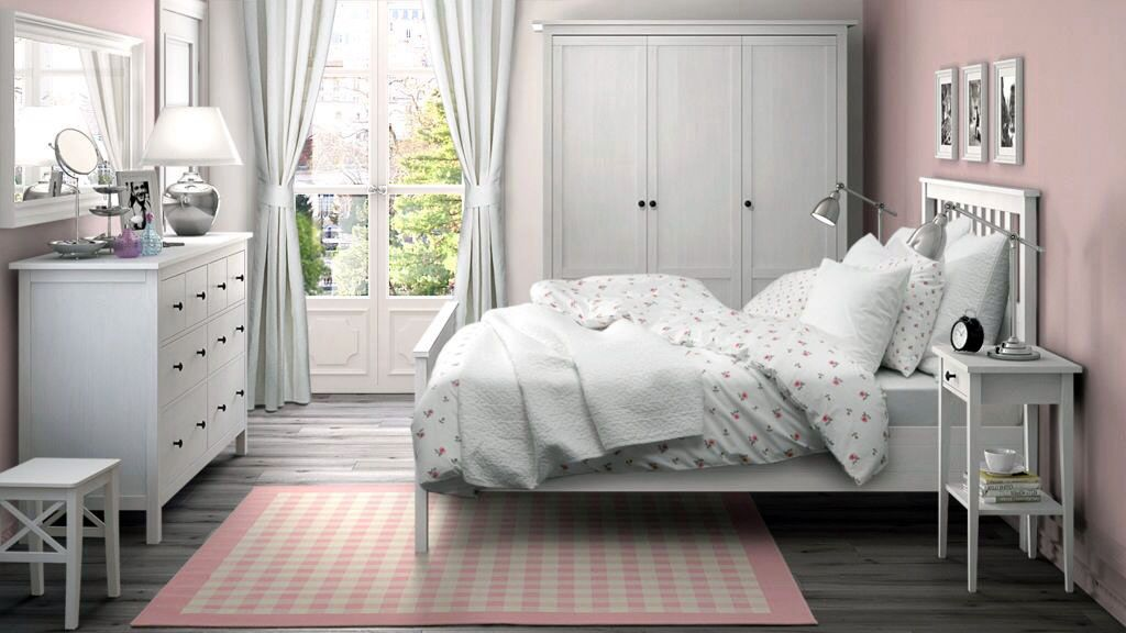 Find Your Peacefulness With These White Room Concepts Ikea Bedroom Sets Furniture Design