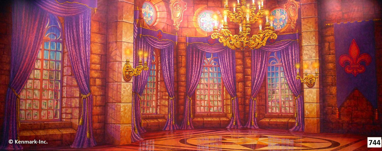 Castle cartoon inside