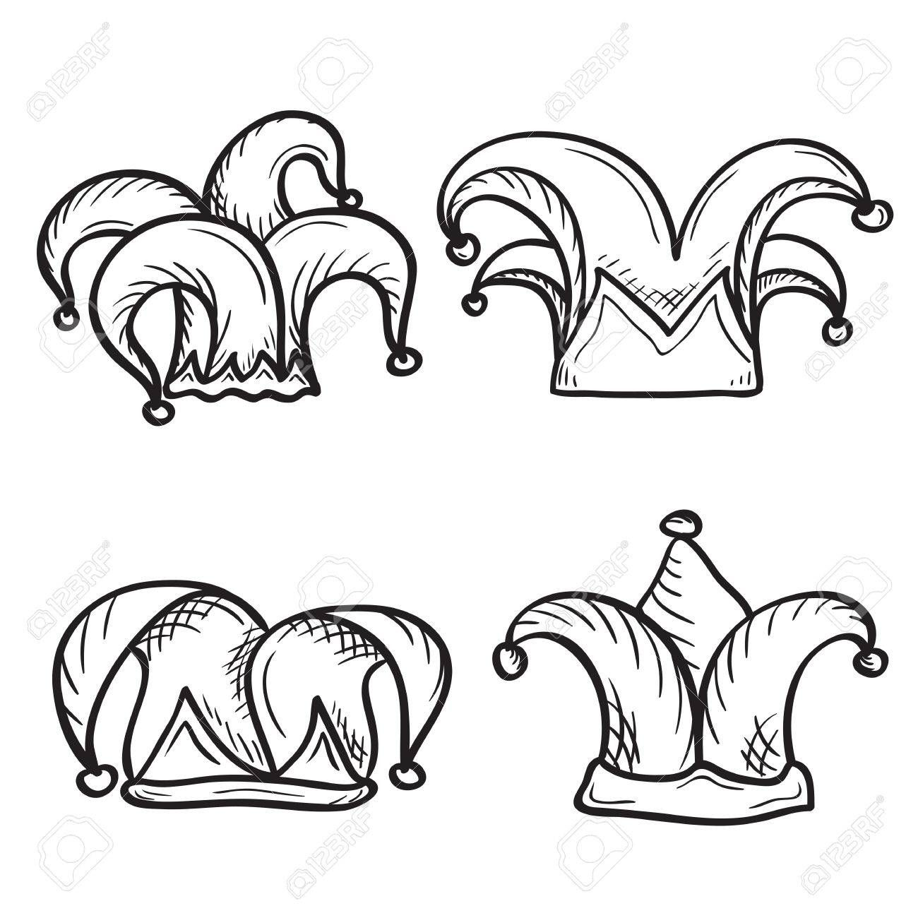 Image Result For Jester Hat Joker Card Tattoo Joker Drawings Easy Tattoos To Draw