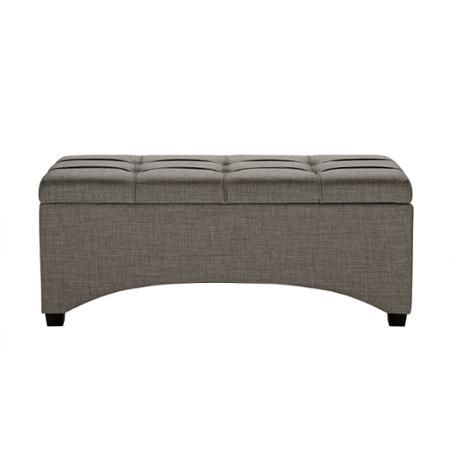 better homes and gardens pintucked storage bench multiple finishes