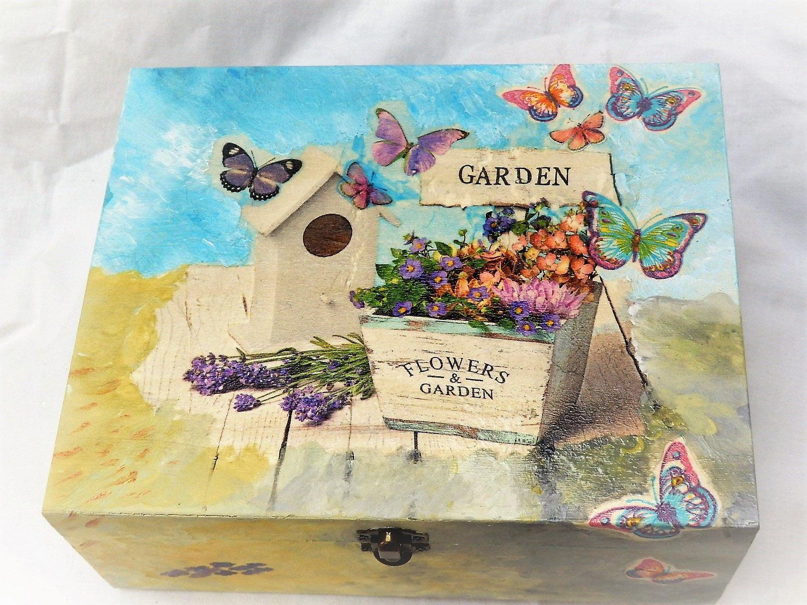 Gardener S Gift Idea Garden Keepsake Box Gift For A Gardener