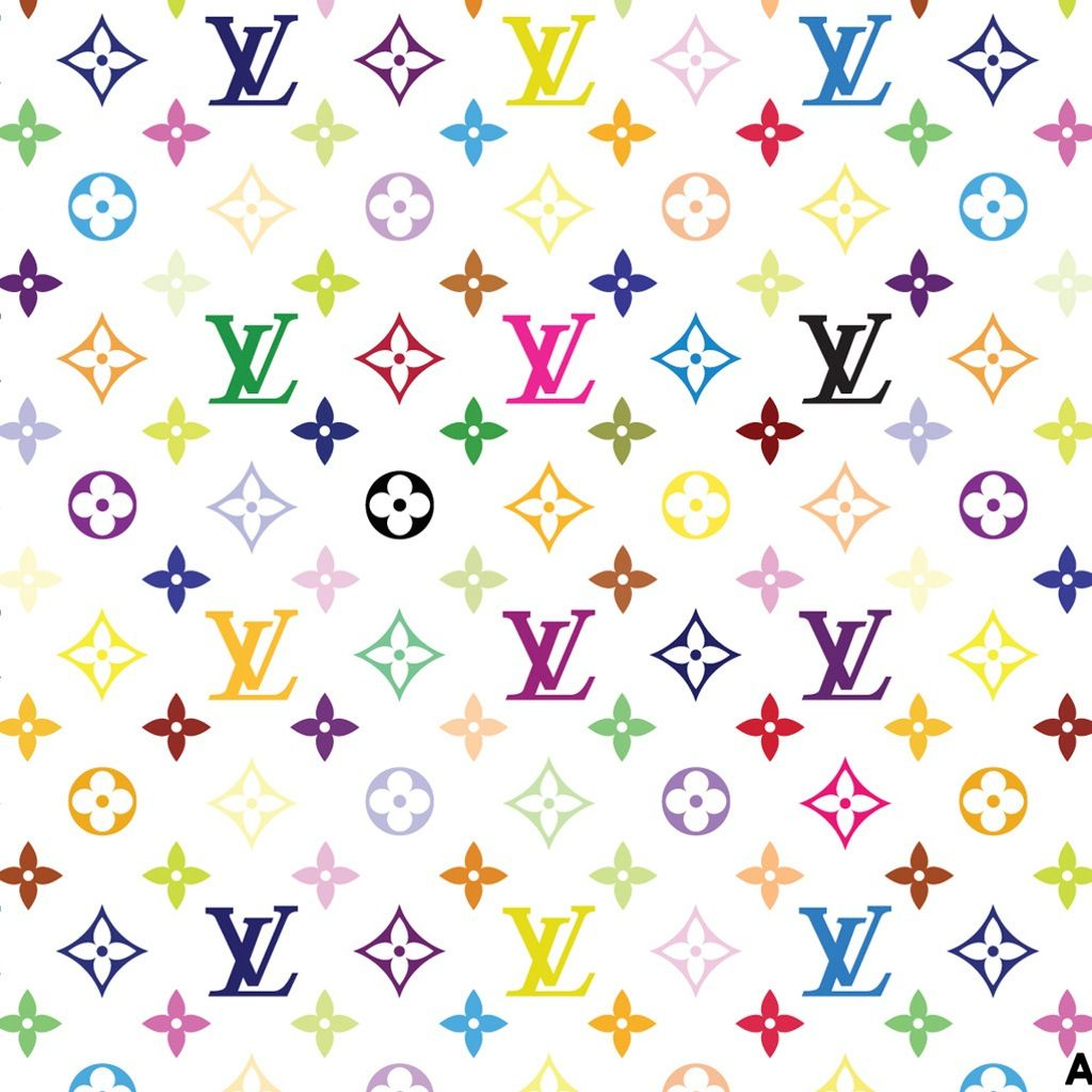 Rainbow Louis Vuittons White Background New Wallpaper Iphone Louis Vuitton Background Iphone Background