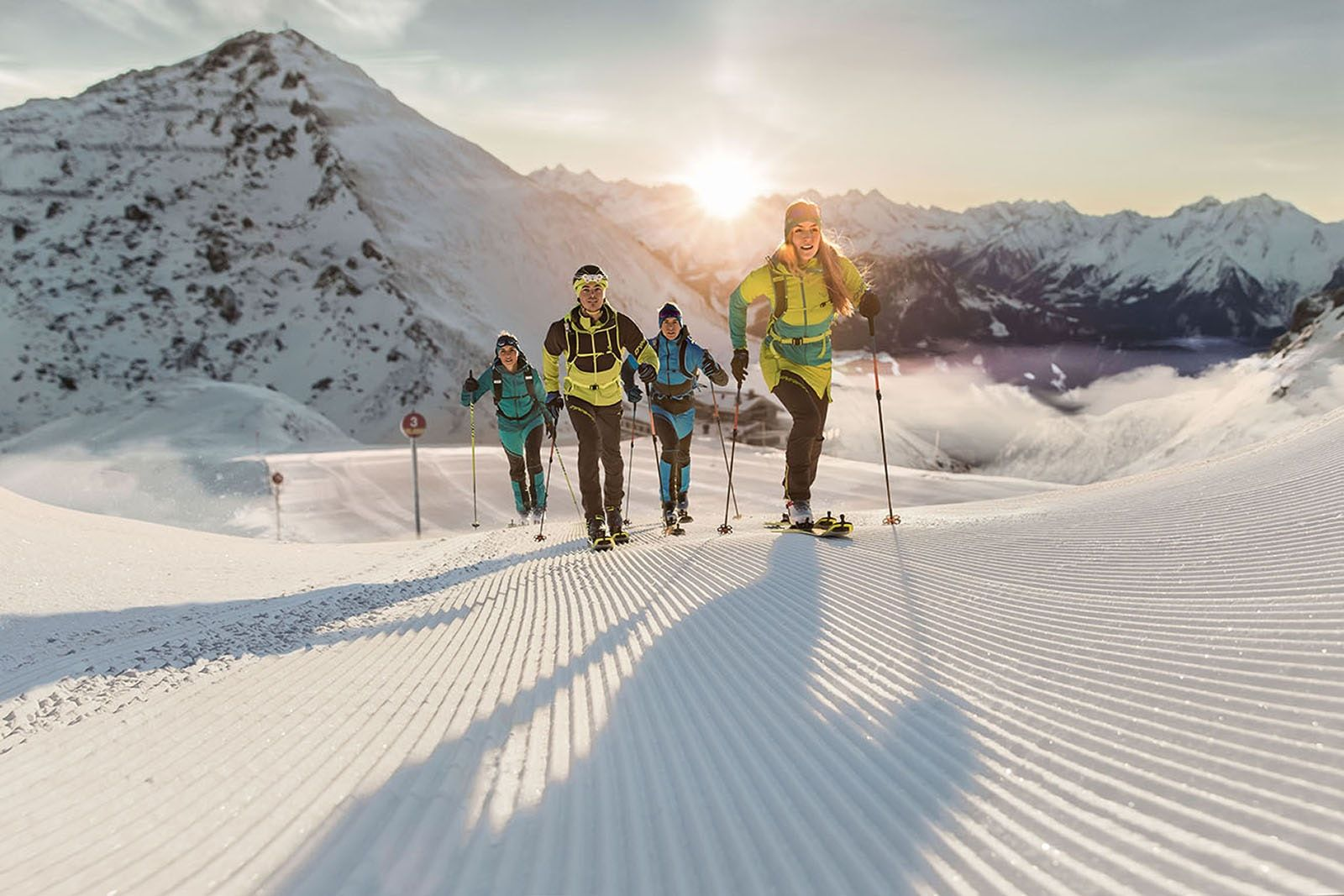Uphill Skiing Is the Latest Trend in Snow Sports Skiing
