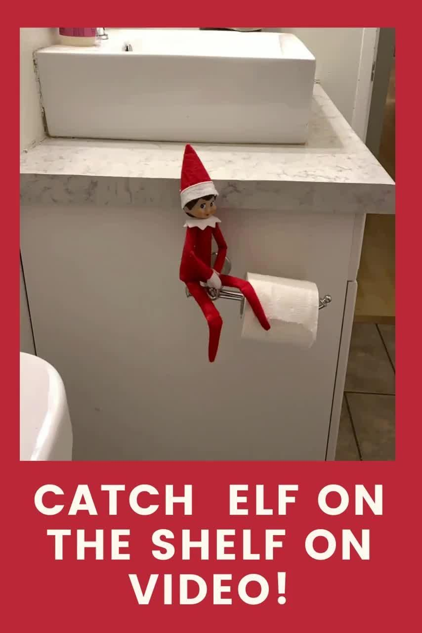 What really happens in the bathroom when Elf is ar
