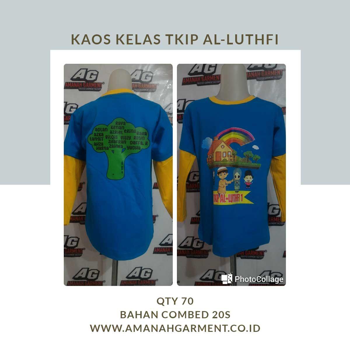 Konveksi Kaos Anak Bandung Dengan Bahan Lembut Baju Anak Kaos Kota Bandung