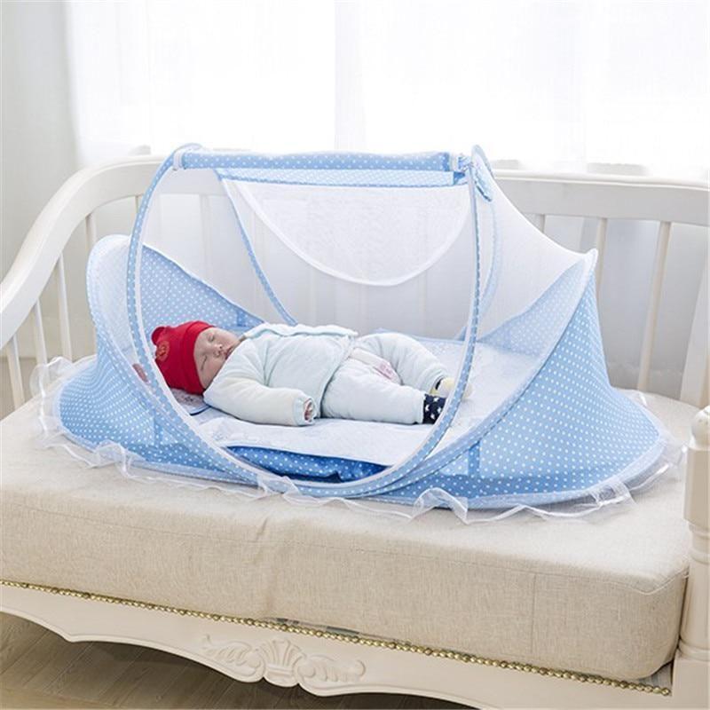 Baby Crib Free Installation Foldable Baby Mosquito Net Baby Room Decor Newborn Us 98 00 Baby Cribs Baby Crib Sheets Baby Room Decor