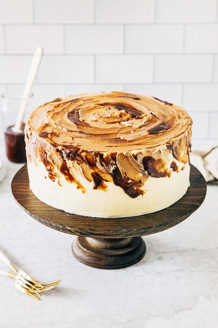 Vietnamese Iced Coffee Cake Hummingbird High Recipe In 2020 Coffee Cake Vietnamese Coffee Recipe Coffee Cake Decoration
