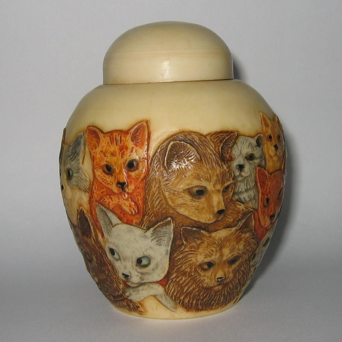 Details about Kitty Litter Cat / Kitten Trinket Pot