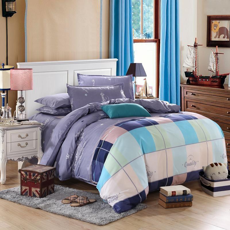 Bedding Sets 4pcs Duvet Cover Set Twin Full Size For 3 3feet 5 Feet Bed 1