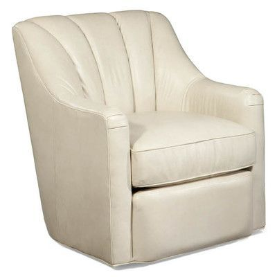 Palatial Furniture Fitzgerald Leather Swivel Club Chair