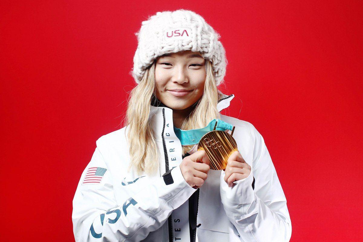 Pin on Chloe Kim