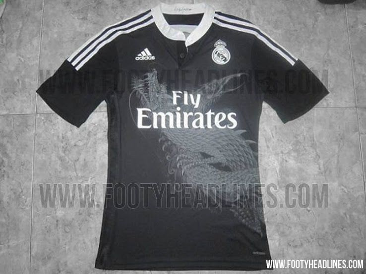 Real Madrid 14 15 Home Away Kits Yamamoto Dragon Third Kit Unveiled With Images Real Madrid Madrid Mens Tops