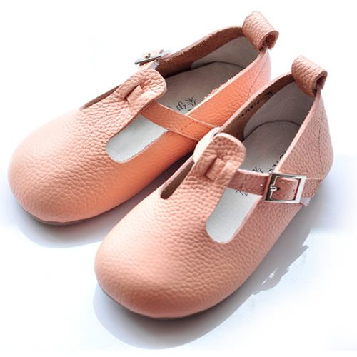 Cute Mary Jane Shoes | Cute Pink Cowhide Leather Flower Pageant Party Girl Mary Jane Shoes ...