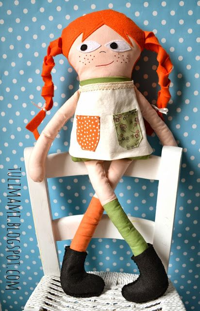 Pippi Calzelunghe Craft Pinterest Dolls Softies And Doll Toys