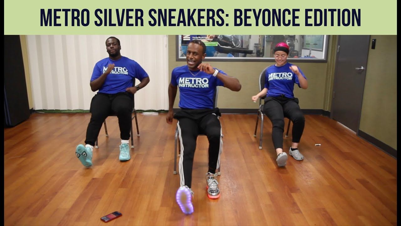 Metro silver sneakers beyonce edition metro physical