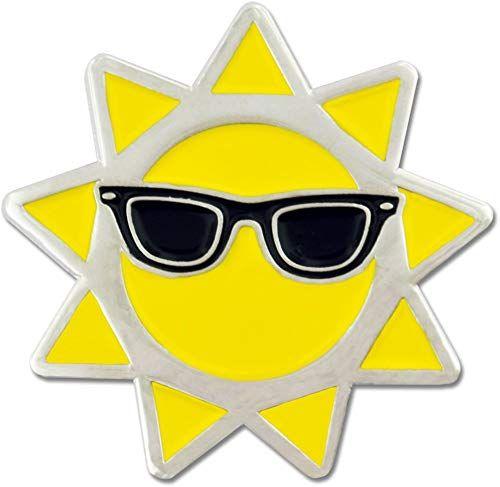 Buy PinMart Cool Sun Sunglasses Summer Enamel Lapel Pin