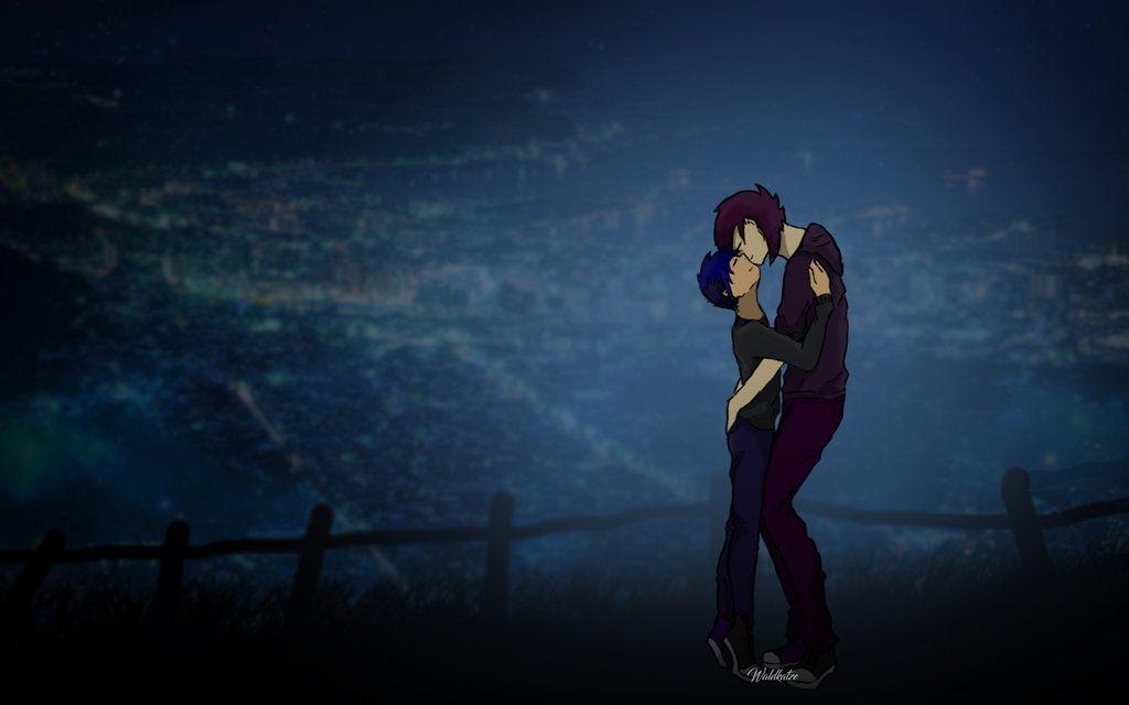 Stardew Valley Sebastian kiss by AidantheWolf deviantart com