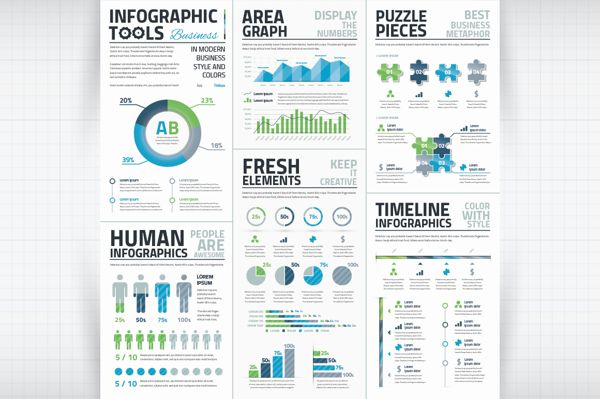 infographic template word