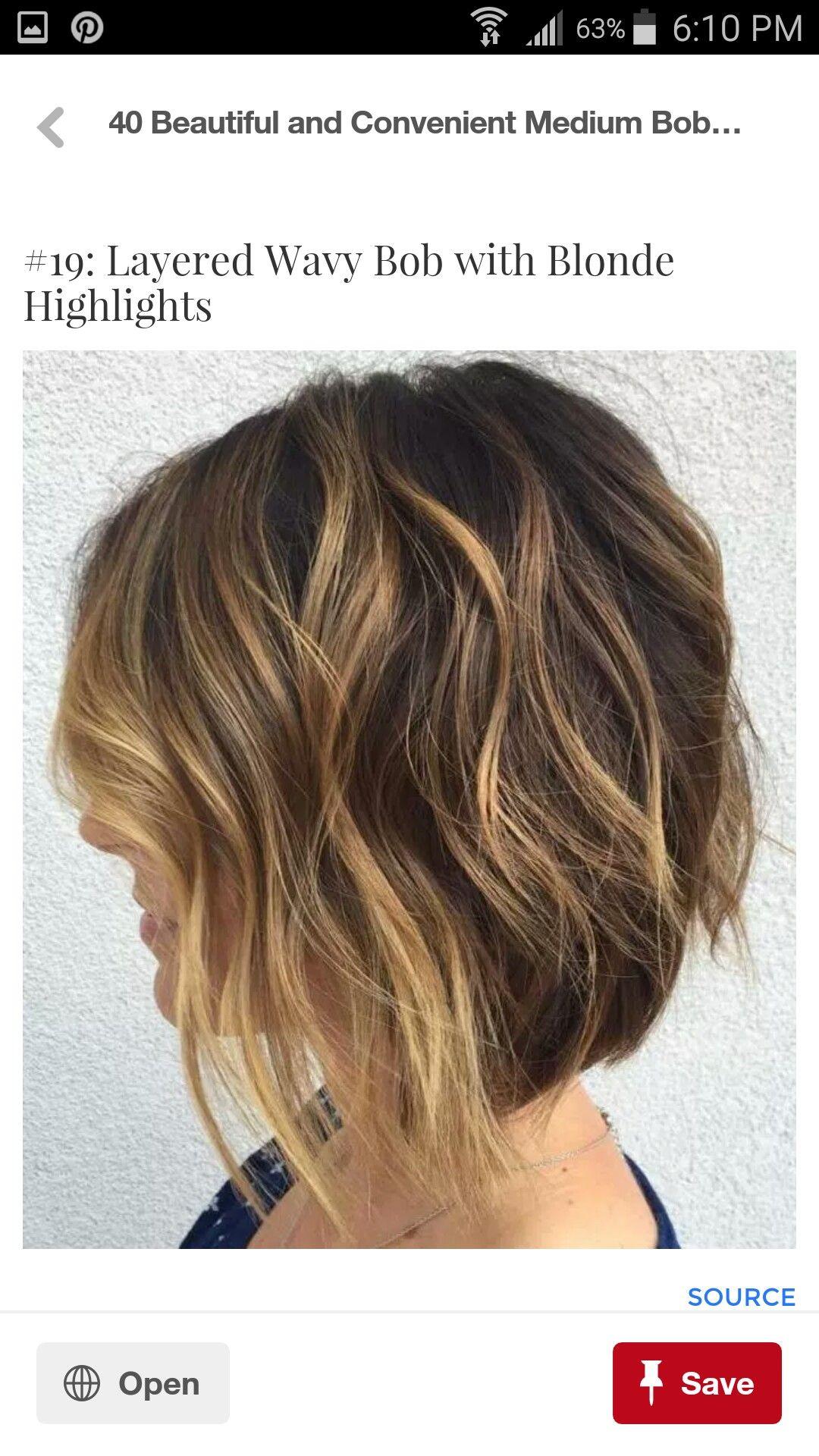 Pin von Jeni Gallagher auf hair styles; )  Bob haare, Bob frisur