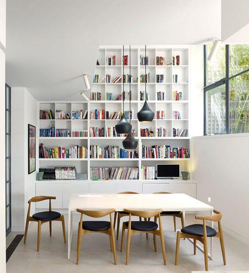 librerías hechas a medida para el comedor | Comedores | Biblioteca y ...