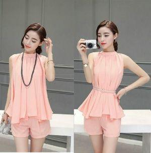 St Wanda Salem Pakaian Baju setelan wanita model terbaru Cewek ABG Korean  Style 953804302b