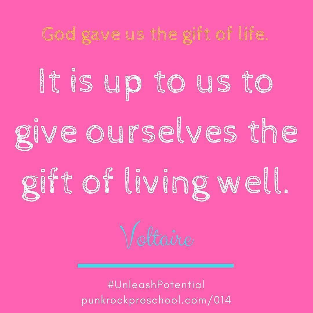 God Gave Us The T Of Life It Is Up To Us To Give